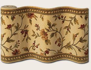 Couristan Royal Luxury Winslow Linen Beige 1327-0001 Custom Length Runner
