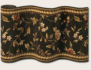 Couristan Royal Luxury Winslow Ebony 1327-0003 Custom Length Runner