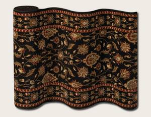 Couristan Melbourne 9150 Ebony B004A Custom Length Runner