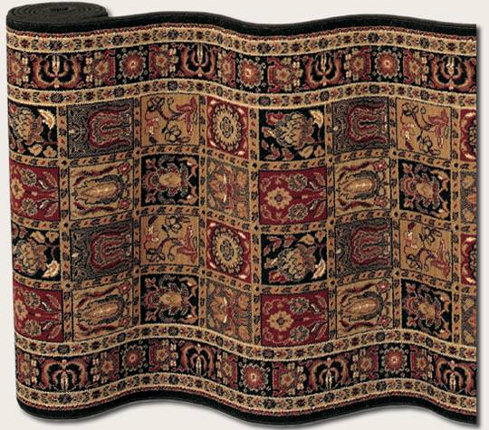 Couristan Royal Kashimar Antique Nain Black 8199 2599