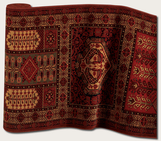Couristan Royal Kashimar Antique Nain Burgundy 7886 1945