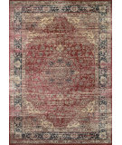 Couristan Zahara Persian Vase Red - Black - Oatmeal Area Rug