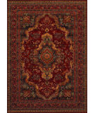 Couristan Old World Classics Kerman Med Burgundy Area Rug