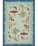Couristan Outdoor Escape Pacific Heights Ocean Area Rug