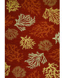 Couristan Outdoor Escape Sea Reef Terracotta Area Rug