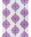 Couristan Crawford Ornament Magenta Area Rug