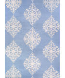 Couristan Crawford Ornament Powder Blue Area Rug