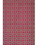 Couristan Bowery Havemeyer Crimson - Brown Area Rug