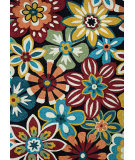 Couristan Covington Geranium Navy - Multi Area Rug