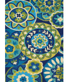 Couristan Covington Rip Tide Ocean - Green Area Rug