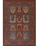 Couristan Timeless Treasures Vintage Baktia Burgundy Area Rug