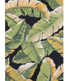 Couristan Covington Rainforest Forest - Green Black Area Rug