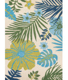 Couristan Covington Summer Laelia Ivory - Fern Area Rug