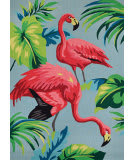 Couristan Covington Flamingos Multi Area Rug