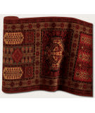 Couristan Royal Kashimar Antique Nain Burgundy 7886-1945 Custom Length Runner