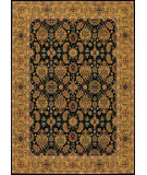 Couristan Royal Kashimar All Over Vase Black - Deep Maple Area Rug