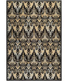 Couristan Everest Zion Black - Teal Area Rug