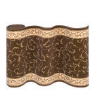 Couristan La Scala CBB2 Chocolate Custom Length Runner
