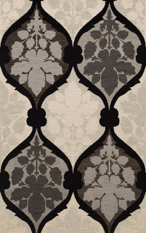 Dalyn Bella Bl4 Black Area Rug