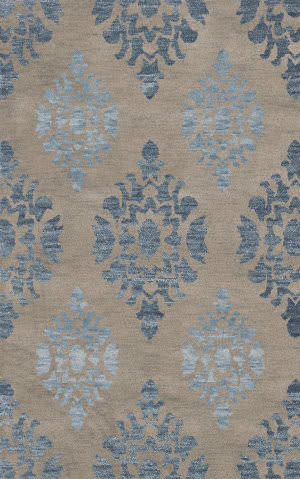 Dalyn Bella Bl9 Silver Area Rug