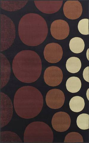 Rugstudio Kaitlin CR-60 Black Area Rug