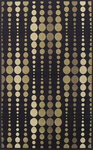 Rugstudio Kaitlin CR-62 Black Area Rug