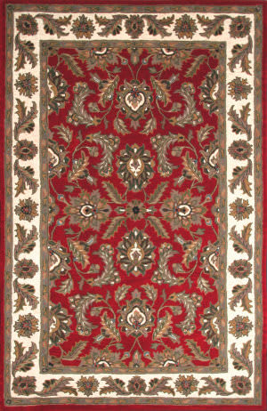 Dalyn Jewel Jw10 Red Area Rug