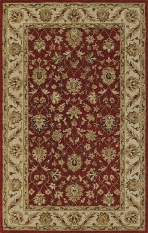 Dalyn Jewel Jw33 Salsa/Ivory Area Rug