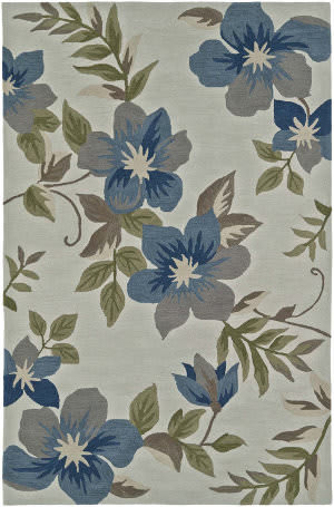 Dalyn Maui Mm6 Ivory / Blue Area Rug