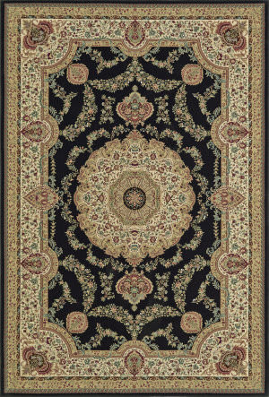 Dalyn Malta Mt8021 Black Area Rug