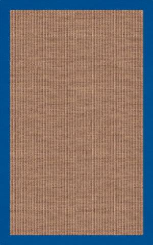 RugStudio Riley EB1 mocha 109 cobalt Area Rug