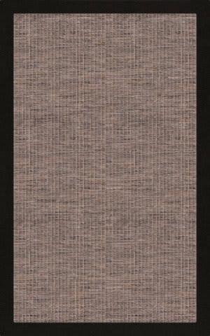 RugStudio Riley EB1 stone 107 black Area Rug