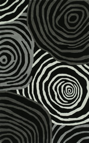 Dalyn Santino So49 Black Area Rug