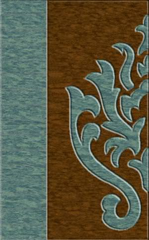Rugstudio Riley DL10 Sky-Caramel Area Rug