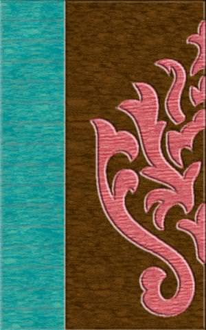 Rugstudio Riley DL10 Peacock-Caramel-Bubblishous Area Rug