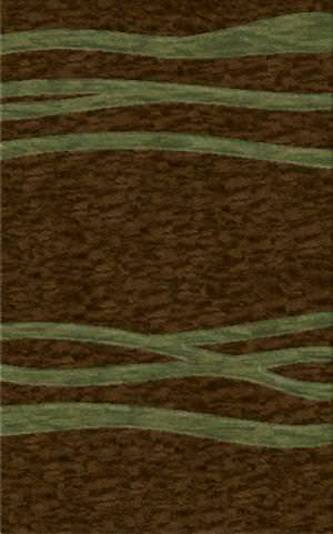 Rugstudio Riley DL14 Mocha-Fern Area Rug