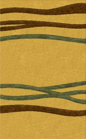 Rugstudio Riley DL15 Golddust-Caramel-Fern Area Rug