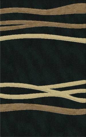 Rugstudio Riley DL15 Black-Stone-Putty Area Rug