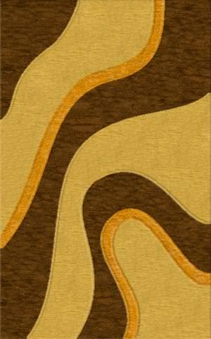 Rugstudio Riley DL16 Caramel-Golddust-Cornmaze Area Rug