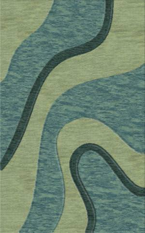 Rugstudio Riley DL16 Seaglass-Sky-Teal Area Rug