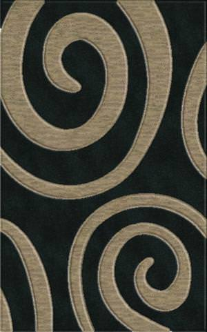 Rugstudio Riley DL17 Black-Silver Area Rug