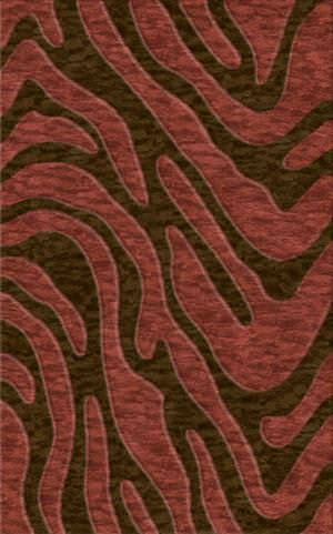 Rugstudio Riley DL19 Mocha-Burgundy Area Rug