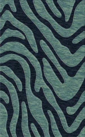 Rugstudio Riley DL19 Navy-Sky Area Rug