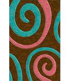 Rugstudio Riley DL17 Caramel-Peacock-Bubblishous Area Rug