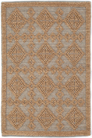 Dash And Albert Alpine Diamond Slate Area Rug