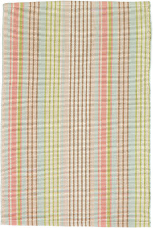 Dash And Albert Ana Indoor-Outdoor Aqua Area Rug