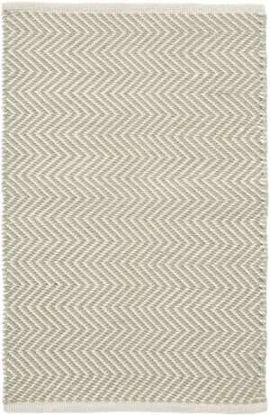 Dash And Albert Arlington Rdb358 Ocean - Ivory Area Rug