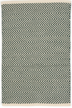 Dash And Albert Arlington Rdb335 Pine - Ivory Area Rug