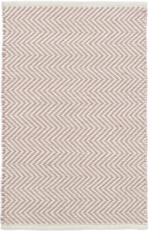 Dash And Albert Arlington Rdb359 Pink - Ivory Area Rug