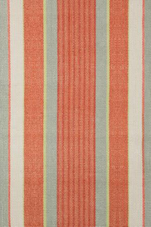 Dash and Albert Autumn Stripe Cotton Woven Area Rug